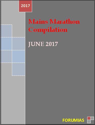 mains marathon answers june