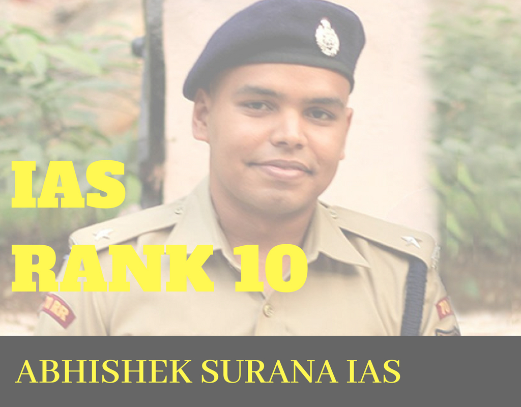 Abhishek Surana Rank 10 GS Strategy and Copies