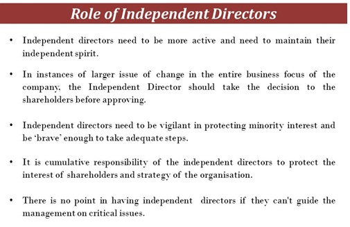 Corporate Governance – A critical Analysis