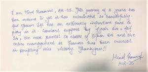 minal Karanwal CSE 2018 Rank 35