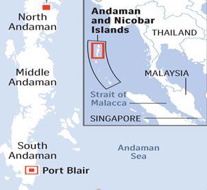 Andaman and Nikobar islands