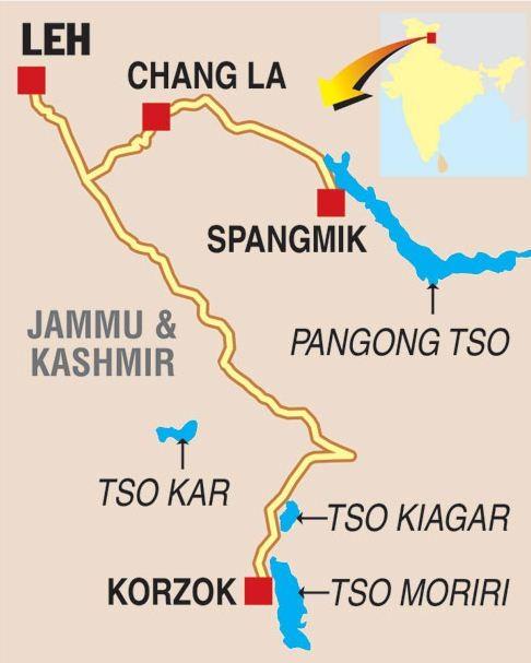 Tso Kar wetland