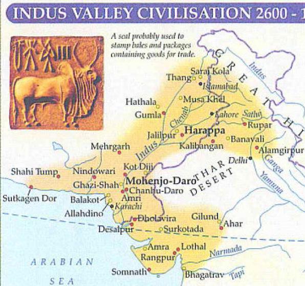indus valley civilization 2600